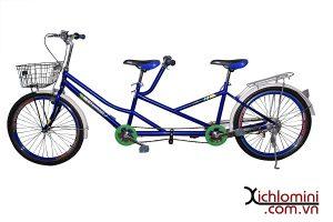 xe đạp đôi sắc sơn